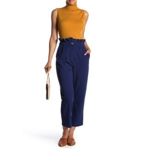 GOOD LUCK GEM High Waisted Ankle Trousers